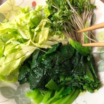 お野菜バンザイ!