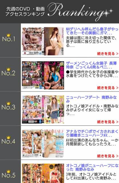 DVD・動画アクセスランキング(#^.^#)