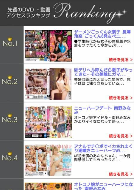 動画・DVDアクセスランキング~(*´∀`)