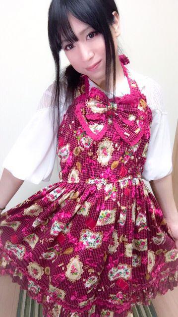 実は新しい洋服でした