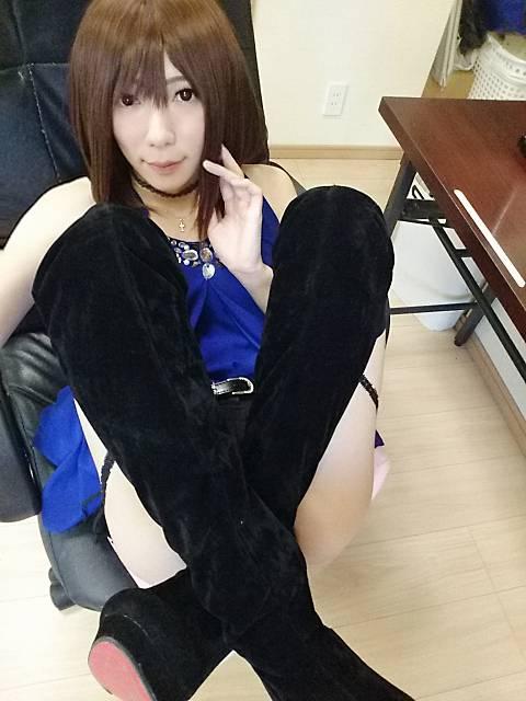 パンツさん隠すお(ヾ(´・ω・`)♪