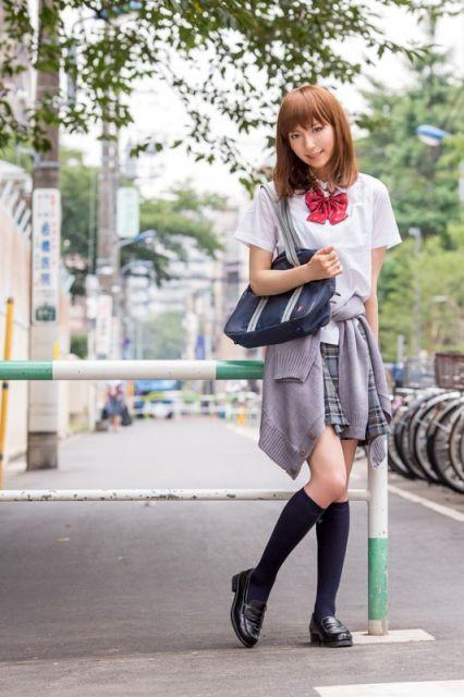 懐かしい女子高生の写真なの(*´∀`)ノ!