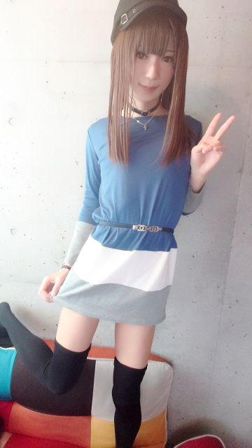 またスカート短い(⊃∀⊂)