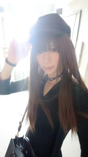 風強くて髪の毛ナビイちゃうヽ(´ω`)ノ