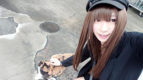 ウチはネコじゃないよ両方だよ( =^ω^)♪