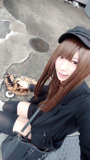 猫ちゃん可愛い(ノ´ー)ノ♪
