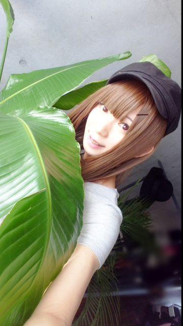 大きい葉っぱ可愛い( ^ω^ )