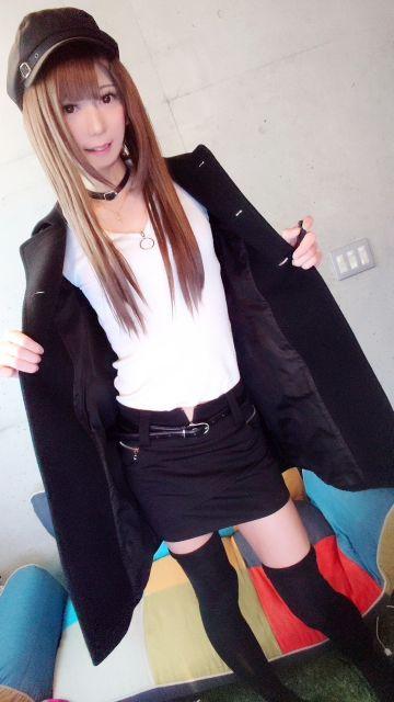 短いスカートでお出迎えするね(⊃∀⊂)♪