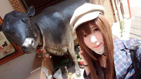 大きい牛さんヽ(・∀・)ノ♪