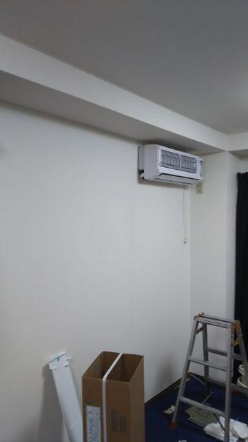 事務所のエアコン壊れて