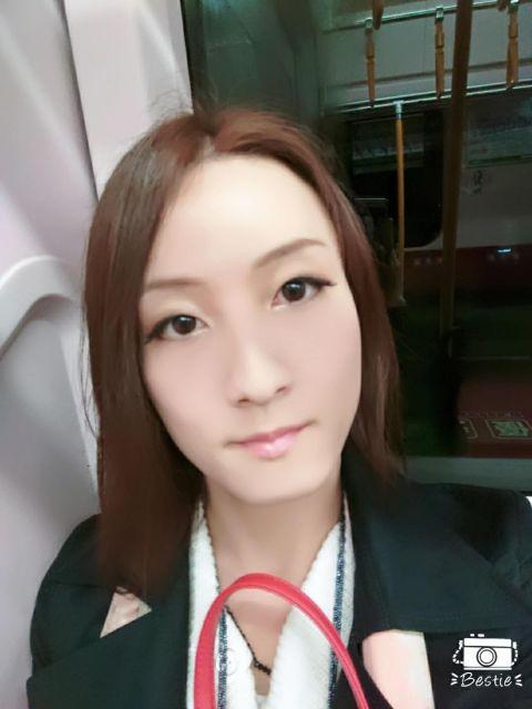 電車の中から、ばんちゃっ(*´∀`)ノ
