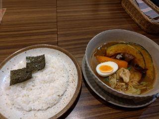お野菜カレー(*´ω`*)