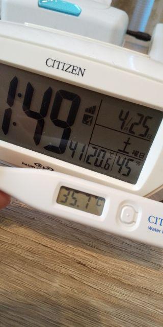 今日の体温(p*'v`*q)